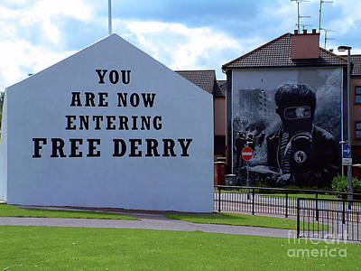 Photograph - Free Derry Corner 3 by Nina Ficur Feenan
