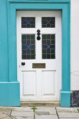 Paving Photograph - Front Door by Tom Gowanlock