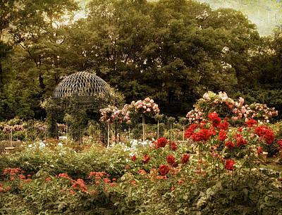 Gazebo Wall Art - Photograph - Garden Gazebo by Jessica Jenney