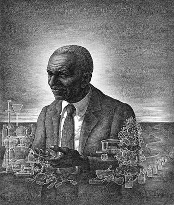 George Washington Carver (1864-1943) Art Print