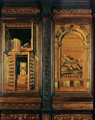Giocondo Da Verona Giovanni Fra, Inlaid Art Print