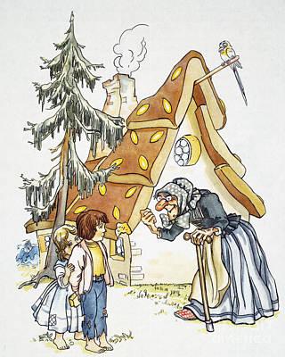 Grimm: Hansel And Gretel Art Print by Granger