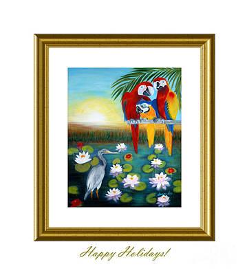 Digital Art - Happy Holidays. by Oksana Semenchenko