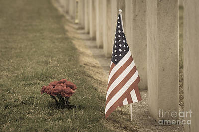 Photograph - Head Stones At Cemetery by Jim Corwin