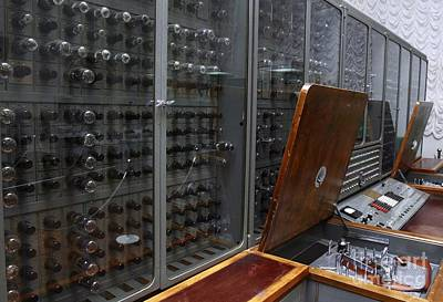 Processor Photograph - Historic Russian Computer by RIA Novosti