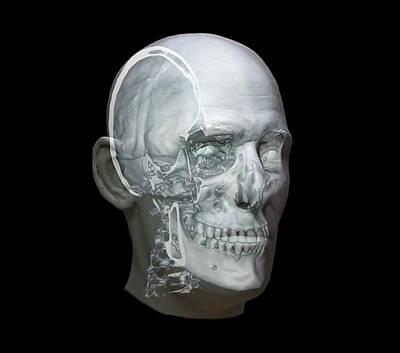 Human Head Art Print by Zephyr