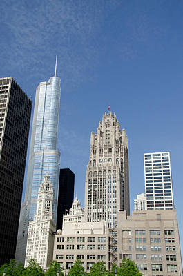 Magnificent Mile Photograph - Illinois, Chicago by Cindy Miller Hopkins