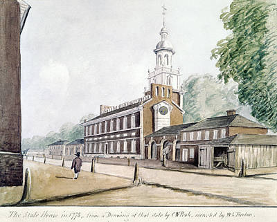 Independence Hall Painting - Independence Hall by Granger