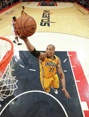 Photograph - Indiana Pacers V Washington Wizards by Ned Dishman