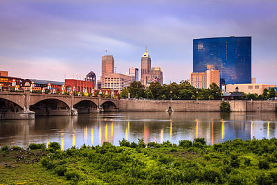 Photograph - Indianapolis by Alexey Stiop