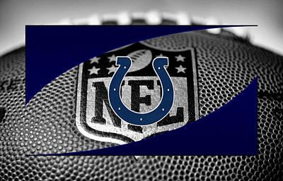 Pad Photograph - Indianapolis Colts by Joe Hamilton