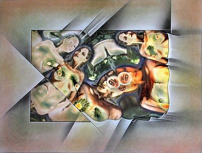 Mixed Media - #6 Innocence 2003 by Glenn Bautista