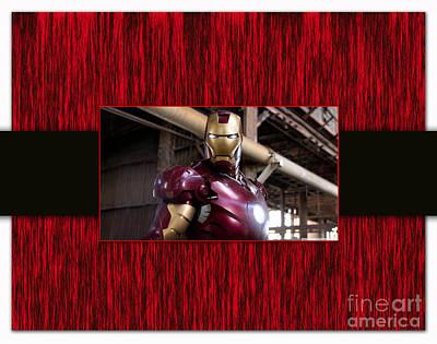 Ironman Mixed Media - Iron Man by Marvin Blaine