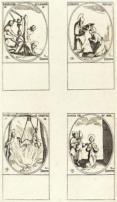 Jacques Callot, French 1592-1635 Art Print by Litz Collection