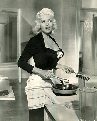 Jayne Mansfield Art Print by Retro Images Archive
