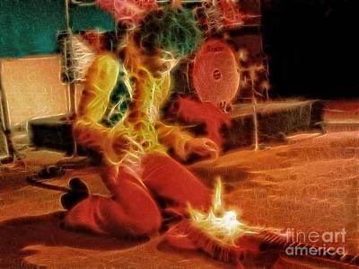 Owls - Jimi Hendrix by Doc Braham