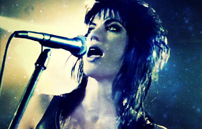 Photograph - Joan Jett by Cyryn Fyrcyd