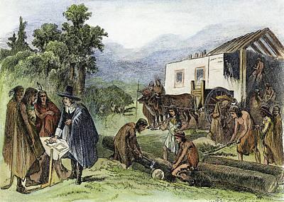 Change Painting - John Eliot (1604-1690) by Granger