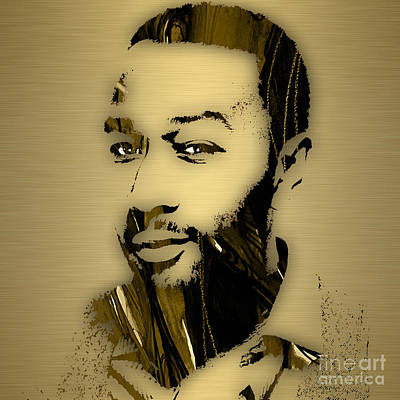 John Legend Collection Print by Marvin Blaine
