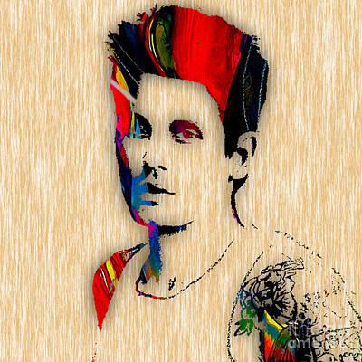 John Mayer Mixed Media - John Mayer Collection by Marvin Blaine