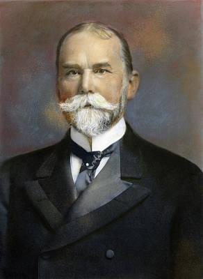 Lapel Photograph - John Milton Hay (1838-1905) by Granger