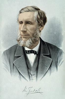 Lapel Painting - John Tyndall (1820-1893) by Granger