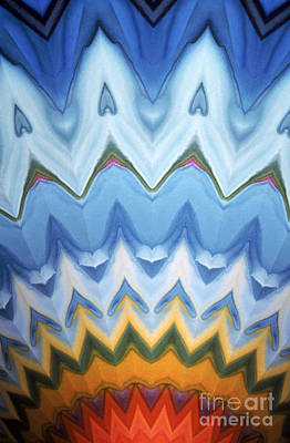 Radial Symmetry Photograph - Kaleidoscope by Bill Longcore