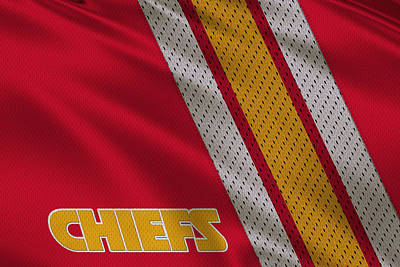 Kansas City Photograph - Kansas City Chiefs Uniform by Joe Hamilton