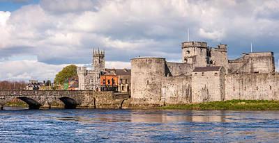 King John's Castle Limerick Ireland Print by Pierre Leclerc Photography