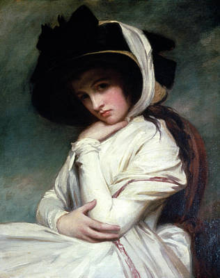 Lord Nelson Painting - Lady Emma Hamilton (1765-1815) by Granger