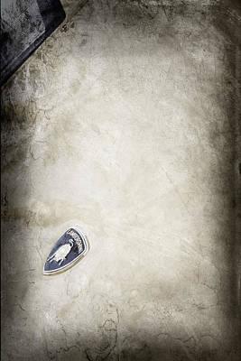 Photograph - Lamborghini Emblem by Jill Reger
