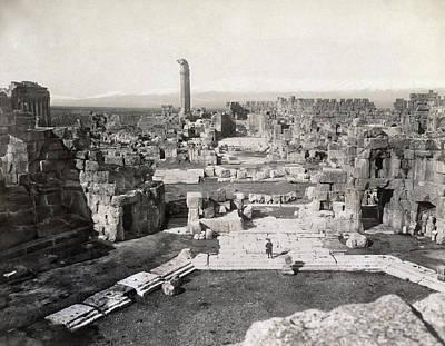 1st Century B.c Photograph - Lebanon Baalbek by Granger