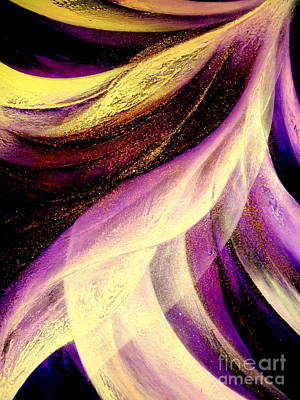 Painting - Light Dance by Kumiko Mayer