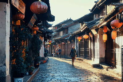 Photograph - Lijiang Old Town by Songquan Deng