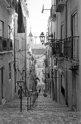 Photograph - Lisbon Streets by Luis Esteves
