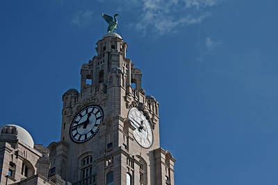 Scouse Photograph - Liverpool's World Heritage Status Waterfront Buildings by Ken Biggs