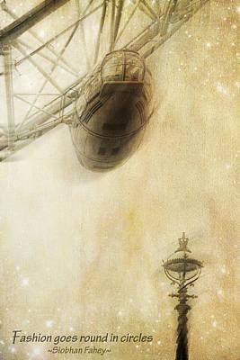Photograph - London Eye by Alfio Finocchiaro