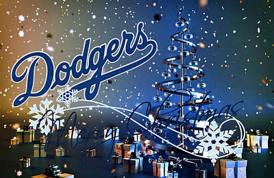 Dodgers Photograph - Los Angeles Dodgers by Joe Hamilton