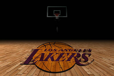 Campus Photograph - Los Angeles Lakers by Joe Hamilton
