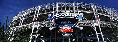 Baseball Parks Photograph - Low Angle View Of A Baseball Stadium by Panoramic Images