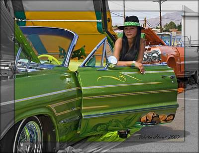 Photograph - Lowrider by Walter Herrit