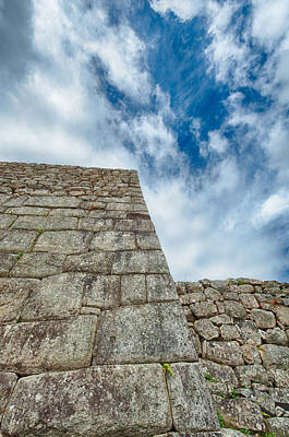 Photograph - Machu Picchu by U Schade