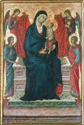 Painting - Madonna And Child by Granger