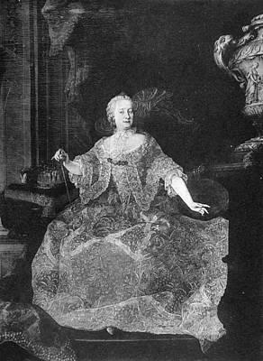 Bohemia Painting - Maria Theresa (1717-1780) by Granger