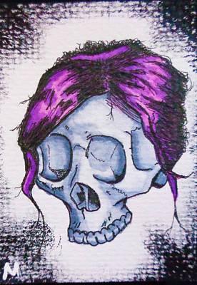 #6 Art Print by Matt N