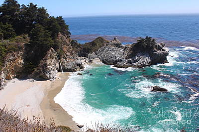 Nature Photograph - Mcway Falls by Bev Conover