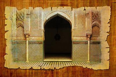 Share Painting - Medina Of Faz by Catf