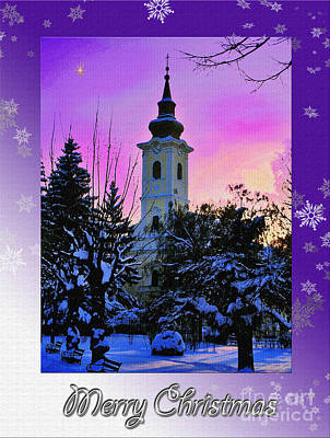 Photograph - Christmas Card 21 by Nina Ficur Feenan