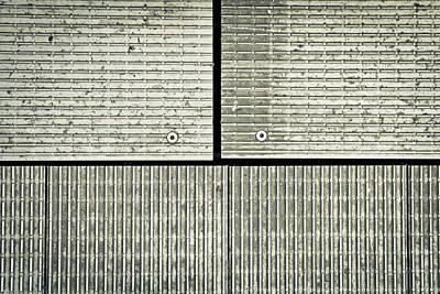 Metallic Sheets Photograph - Metal Background by Tom Gowanlock