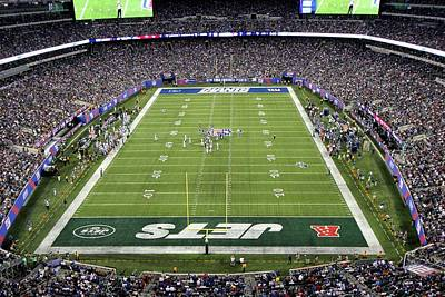 Photograph - Metlife Stadium 6 by Allen Beatty